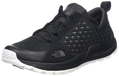 The North Face Damen Mountain Sneaker Trekking-& Wanderstiefel, Mehrfarbig (TNF Black/TNF White), 42 EU