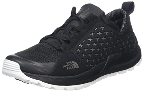 W Mountain Sneaker, Botas de Senderismo para Mujer, Varios Colores (TNF Black/TNF White), 38.5 EU The North Face
