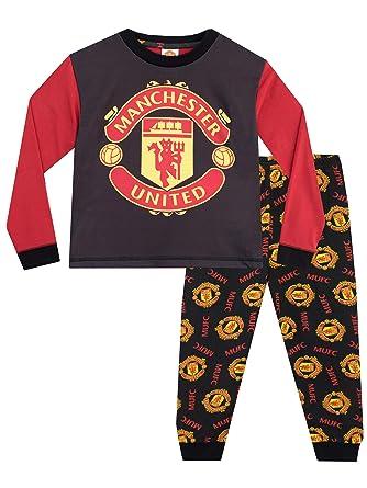 2480efbc008e5 Manchester United FC - Ensemble De Pyjamas - Football Club - Garçon -  Multicolore - 5