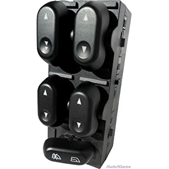 X AUTOHAUX 6554.QA Autom/óvil El/éctrica Puerta Ventana Interruptor Delantero Conductor Izquierda Lado