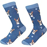 Chihuahua, fawn Socks - 200 Needle Count - One Size Fits Most - Unisex