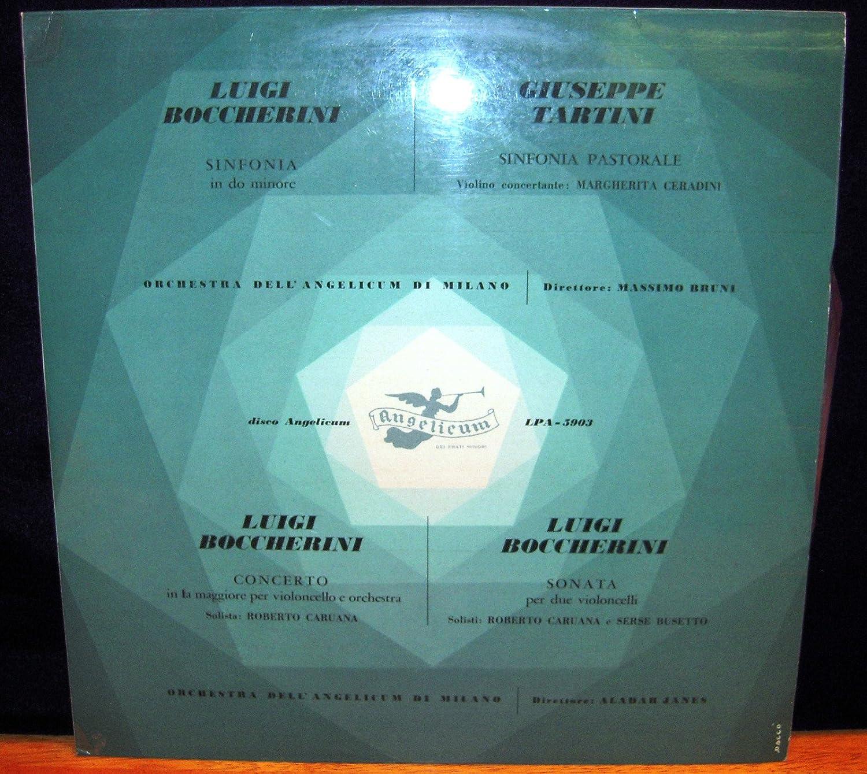 Luigi Boccherini, Giuseppe Tartini, Massimo Druni, Alabar ...