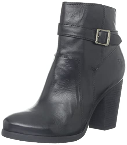 FRYE Women's Patty Riding Bootie, Black, ...