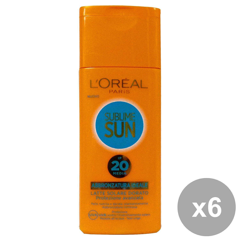 L'OREAL Set 6 Sun Milk Fp20 Dor.200 Ml. Solar-Produkte