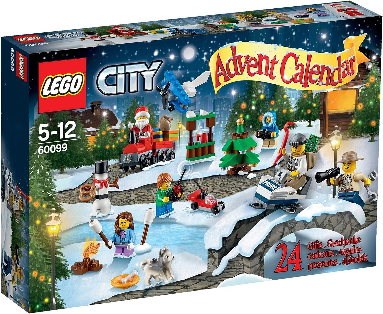 LEGO City - Calendar de adviento (60099): Amazon.es: Juguetes y juegos