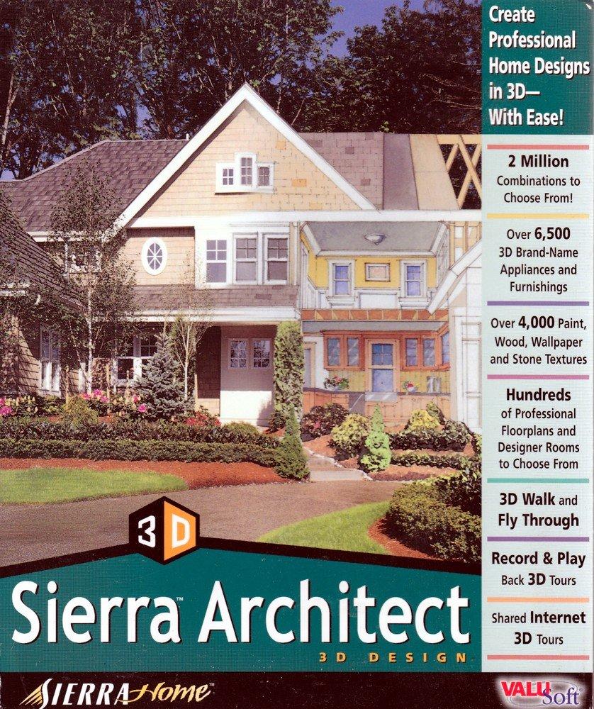 Amazoncom SIERRA ARCHITECT - Professional home designer