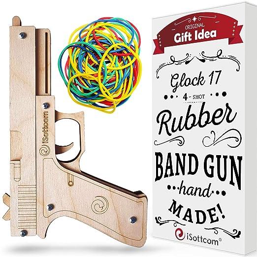 Amazon.com: Pistola de goma - Pistola de juguete Glock por ...