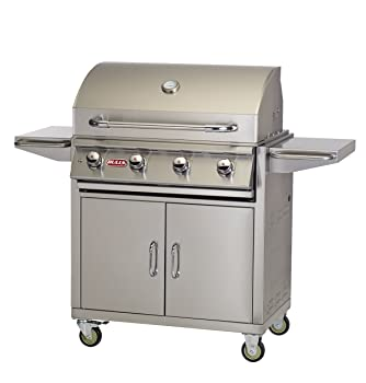 BULL 4-Burner 810sq. in Natural Gas Grill