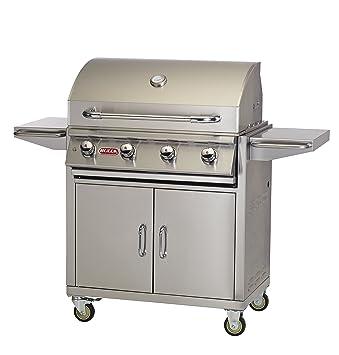 Bull Outdoor Products 87002 NG Lonestar Select Natural Gas Grill On Cart,  Natural Gas