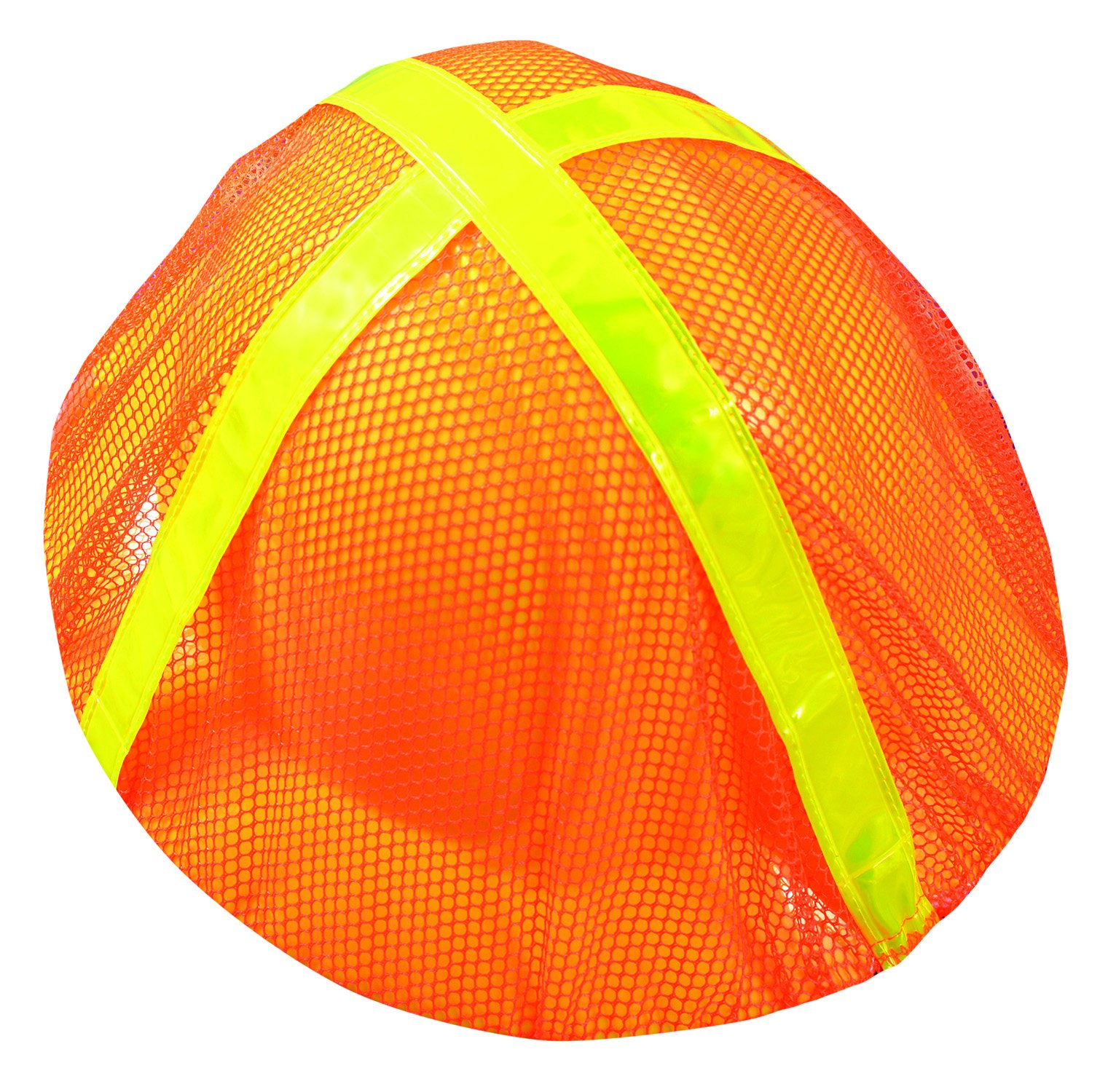 OccuNomix V896-FBO High Visibility Full Brim Hard Hat Cover, Orange, Pack of 12 by OccuNomix