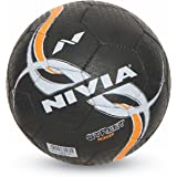 Nivia Street Rubber Football, Size 5 (Black)