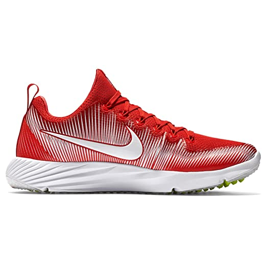 Nike Vapor Speed Turf Football Cleats Shoes University Red White Mens SIze  (11)