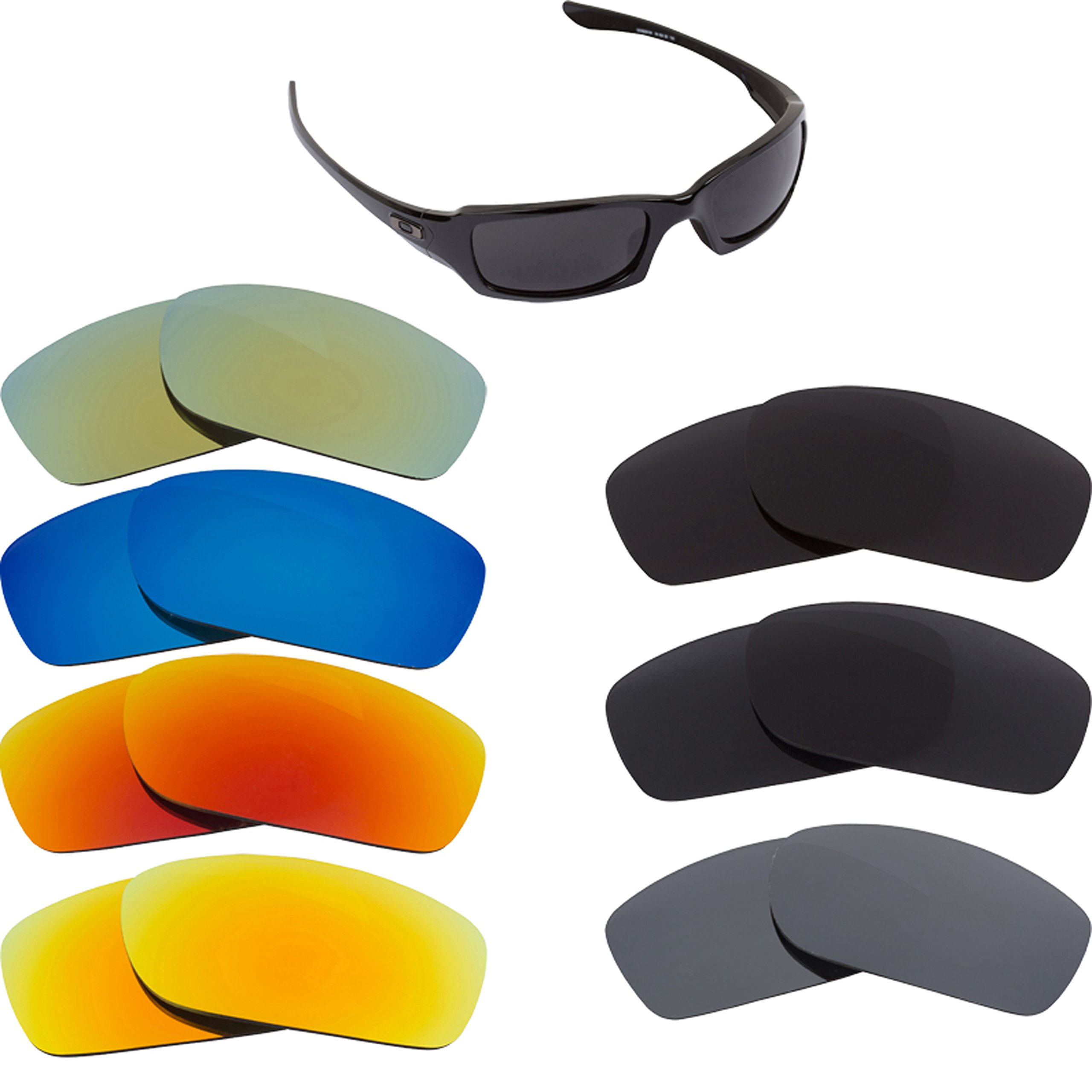 94e9eba91250f Best SEEK Replacement Lenses Oakley FIVES SQUARED - Multiple Options ...