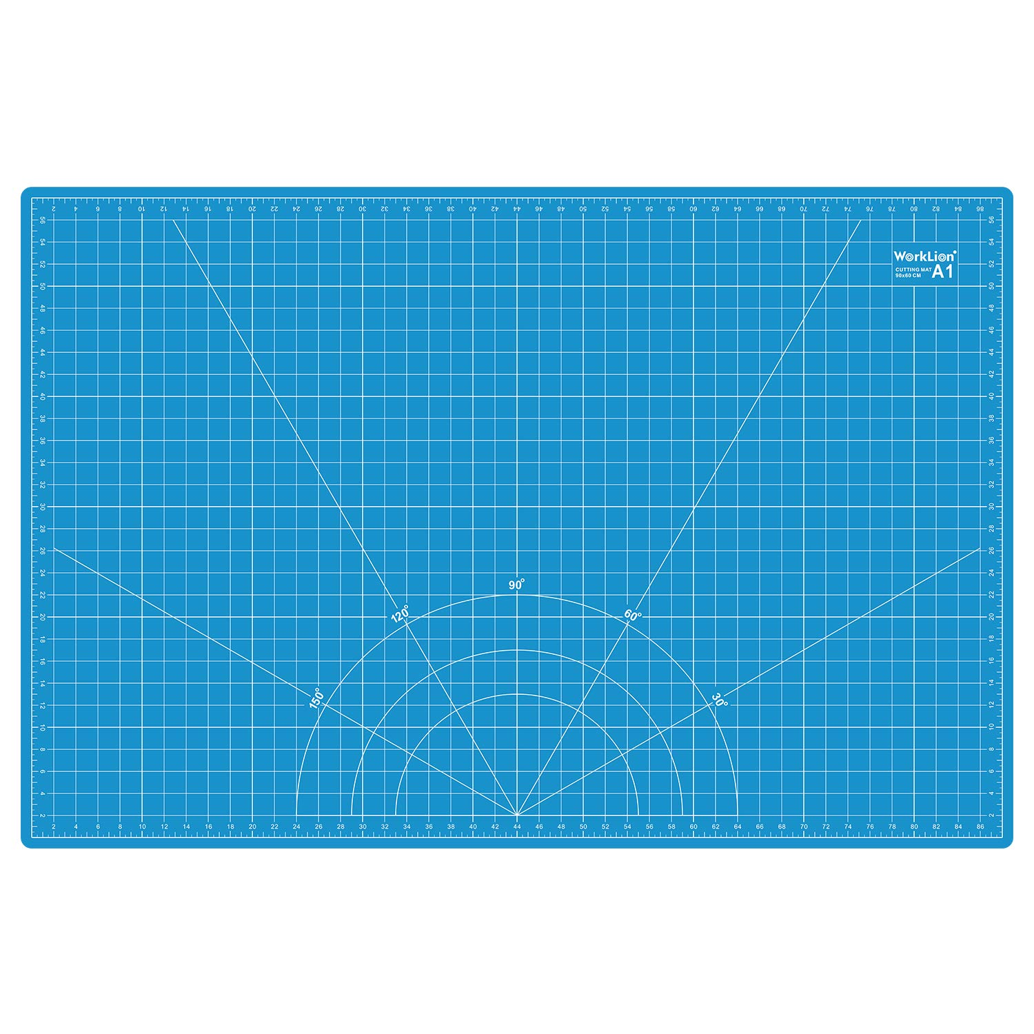 WORKLION 24'' x 36'' Large Self Healing PVC Cutting Mat, Double Sided, Gridded Rotary Cutting Board for Craft, Fabric, Quilting, Sewing, Scrapbooking - Art Project by WORKLION