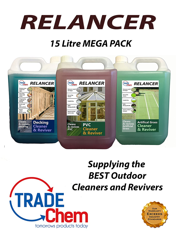 Trade Chemicals RELANCER MEGA PACK (15 Litres)