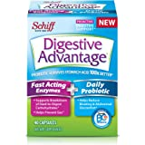 Digestive Advantage Fast Acting Enzymes & Daily Probiotic, 40 Capsules