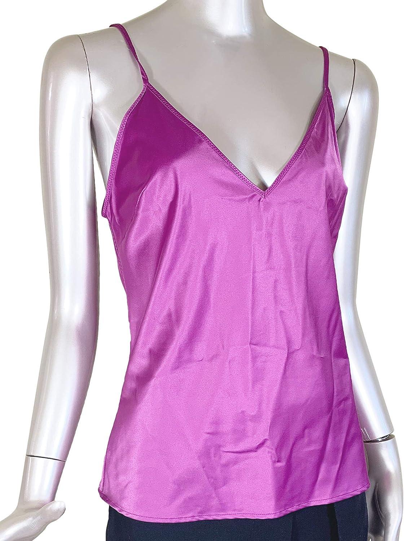 Zara 2878/001/603 - Camisola de satén para Mujer - Rojo ...