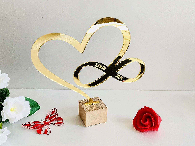 Personalised Custom 20cm MDF Craft Wood Wooden Name Sign Wedding Shape