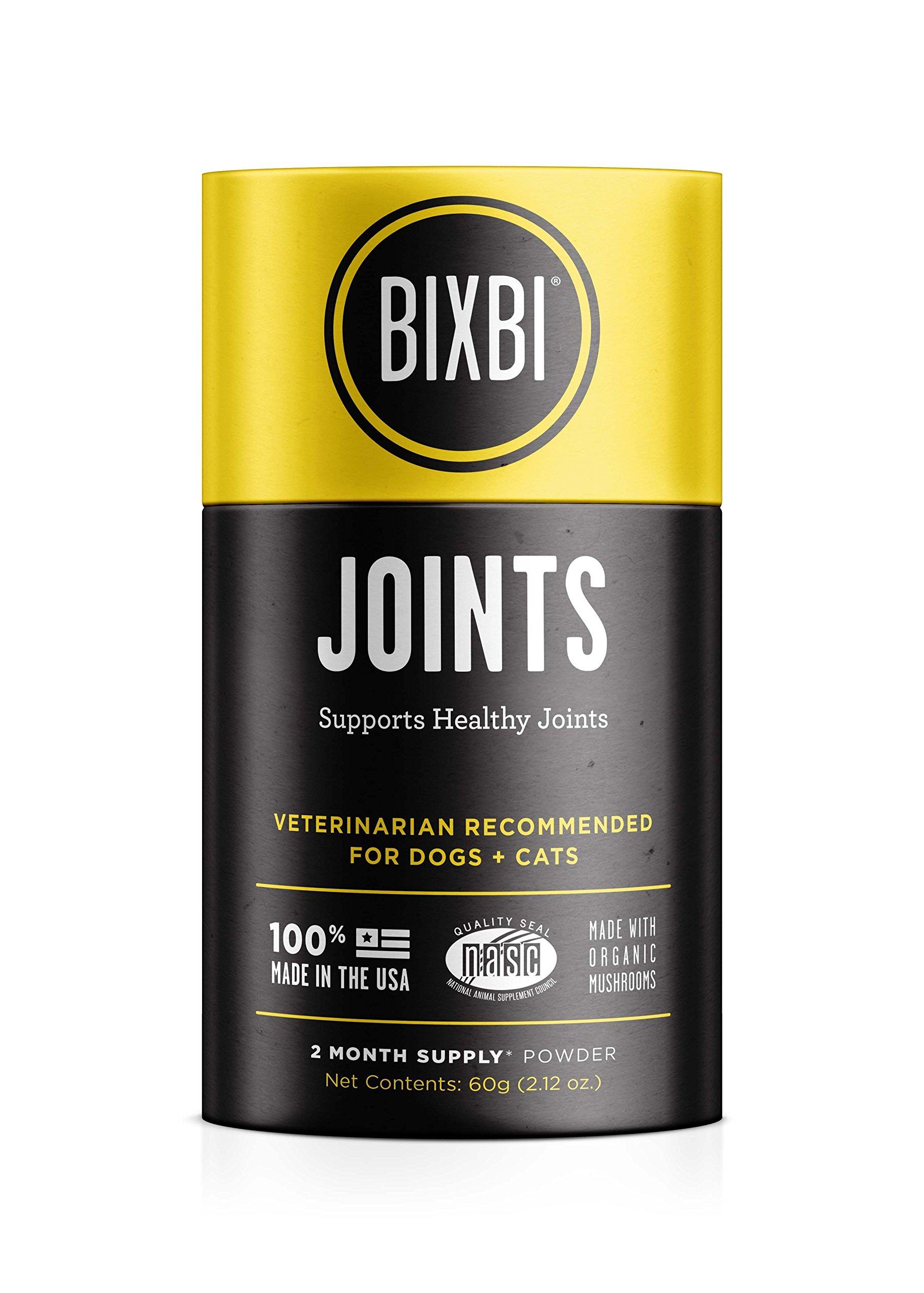 BIXBI Organic Pet Superfood Daily Dog & Cat Supplement, Joints, 60 Grams