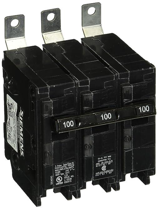 Siemens B3100 100-Amp Three Pole 240-Volt 10KAIC Bolt in Breaker