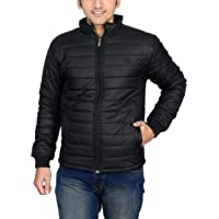 Ico Blue Stor Men's Polyester Jacket(0_Black_0)