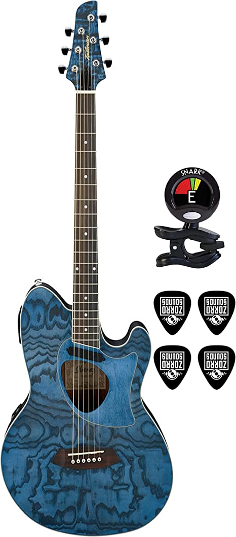 Ibanez tcm50dno 6 cuerdas acústica guitarra eléctrica paquete en ...