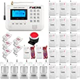 Amazon home sentinel wa410 do it yourself wireless burglar fuers 433mhz lcd display gsm telephone line auto dial home and business burglar alarm system app solutioingenieria Image collections