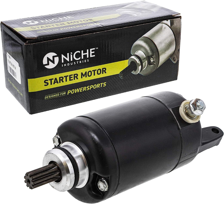 NICHE Starter Motor Assembly 21163-1317 For 1988-2012 Kawasaki Ninja 250R Eliminator 250 250HS