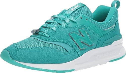 baskets femme new balance vert