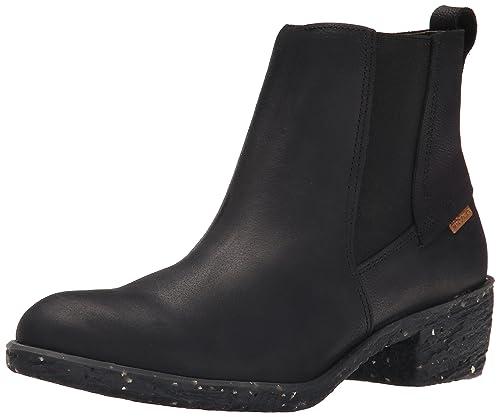 El Naturalista Quera Nc54 - Botines Bajos con Forro cálido de Otra Piel Mujer, Color Negro, Talla 36: Amazon.es: Zapatos y complementos