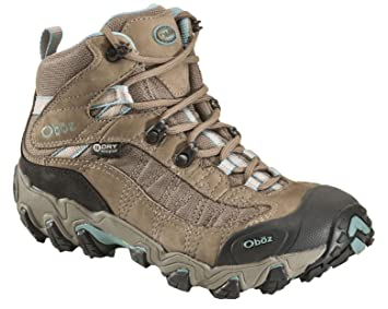 Oboz Phoenix Mid BDry Hiking Boot - Women's Mineral Blue 6