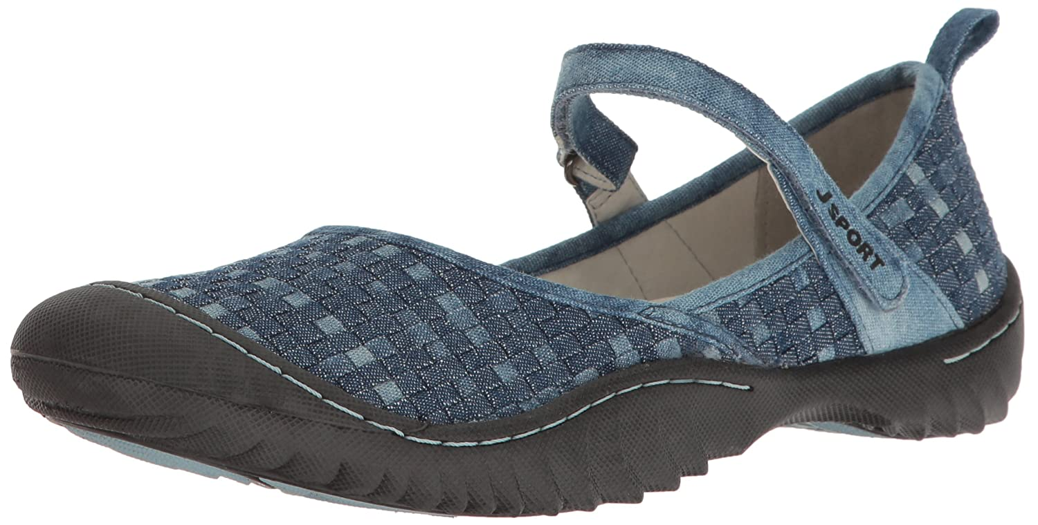 JSport by Jambu Women's Cara Walking Shoe B001R0JC06 8 B(M) US|Denim