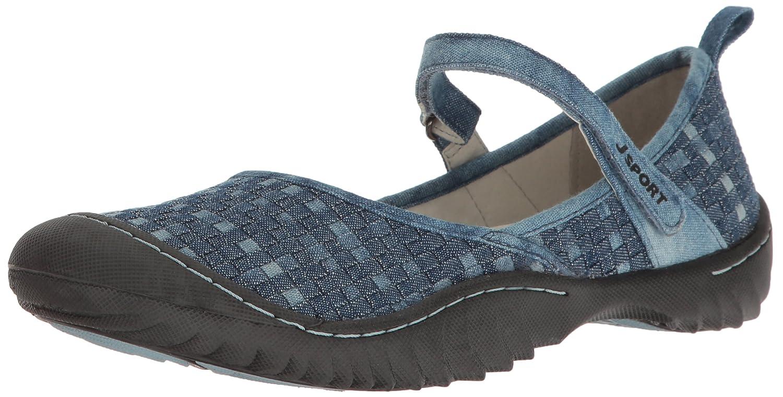 JSport by Jambu Women's Cara Walking Shoe B001R0MCPS 6.5 B(M) US|Denim