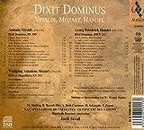 Dixit Dominus - Music of Vivaldi, Mozart & Handel
