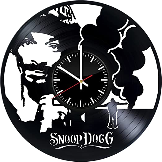 Fun Door Harley Quinn Mad Handmade Vinyl Record Wall Clock for Birthday Wedding Anniversary Valentine/'s Mother/'s Ideas for Men and Women him and her