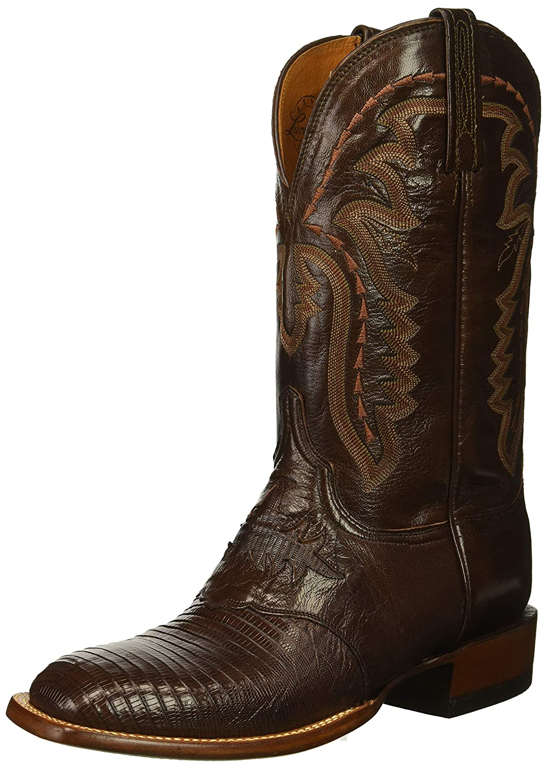 Cigar Lucchese Bootmaker Mens Limited Edition Western Boot