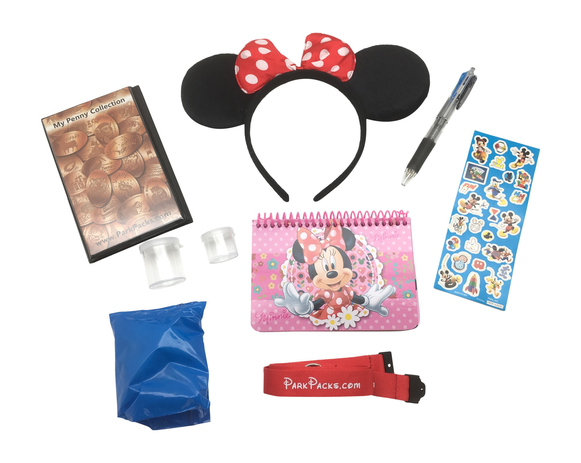 Disney VACATION Set with Essential Park Accessories & Official Autograph Book by Magical Dream Pack