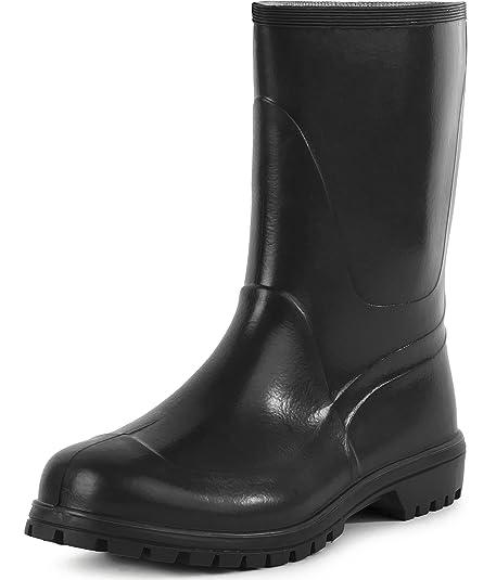 Ladeheid Botas de Agua Zapatos de Seguridad Hombre LABN56-1 (Negro, EU 40