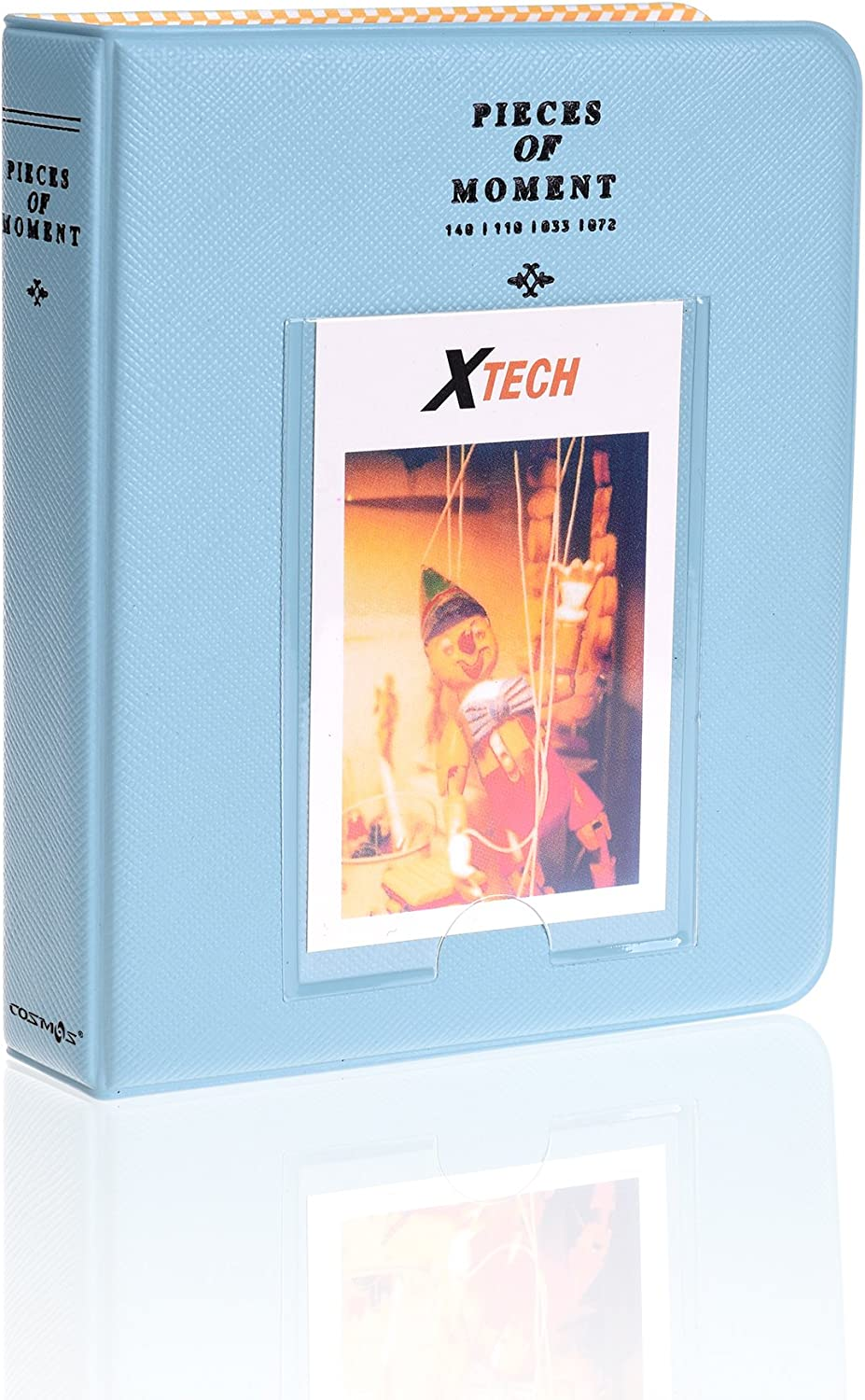 Cosmos Photo Album for Polaroid Zink and Instax Photo Paper (Light Blue)