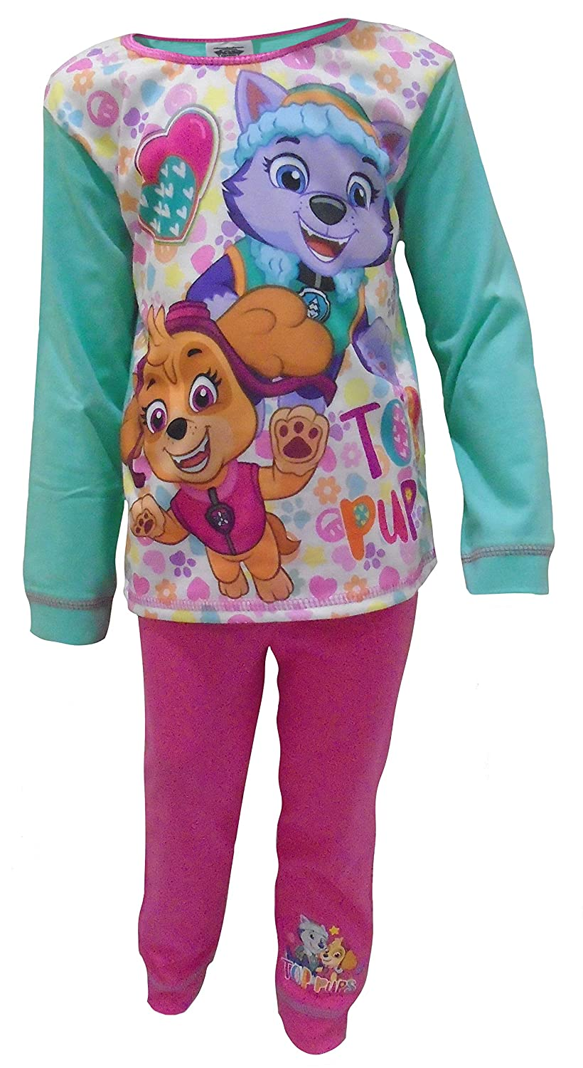 Paw Patrol Flower Pups Girls Two Piece Pajama Set