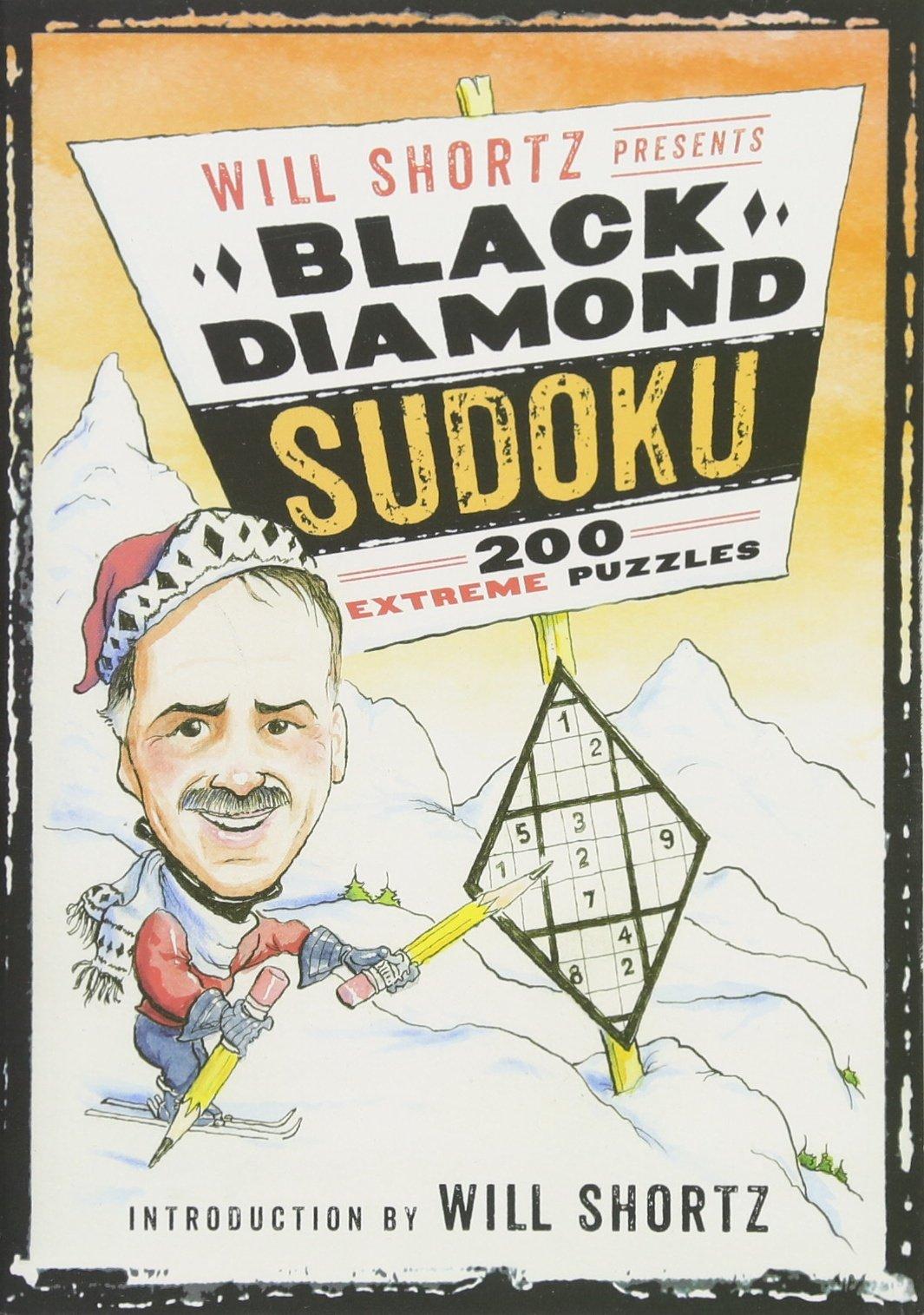Read Online Will Shortz Presents Black Diamond Sudoku: 200 Extreme Puzzles pdf