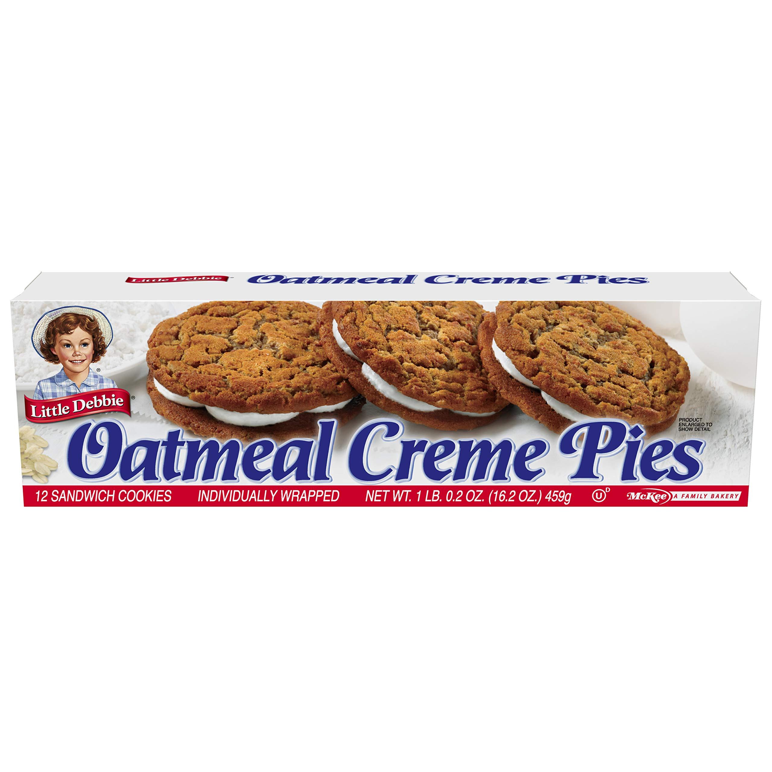 Little Debbie Variety Bundle - Oatmeal Creme Pies, Honey Buns, Swiss Rolls, Cosmic Brownies, and Zebra Cakes by Little Debbie