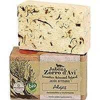 Jabón Zorro D'Avi Jabón Natural Ecológico de Algas Anticelulítico Hidratante y Regenerador - 120 gr