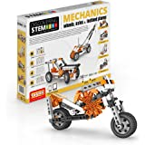 Engino Discovering STEM Mechanics Wheels, Axles and Inclined Planes Construction Kit