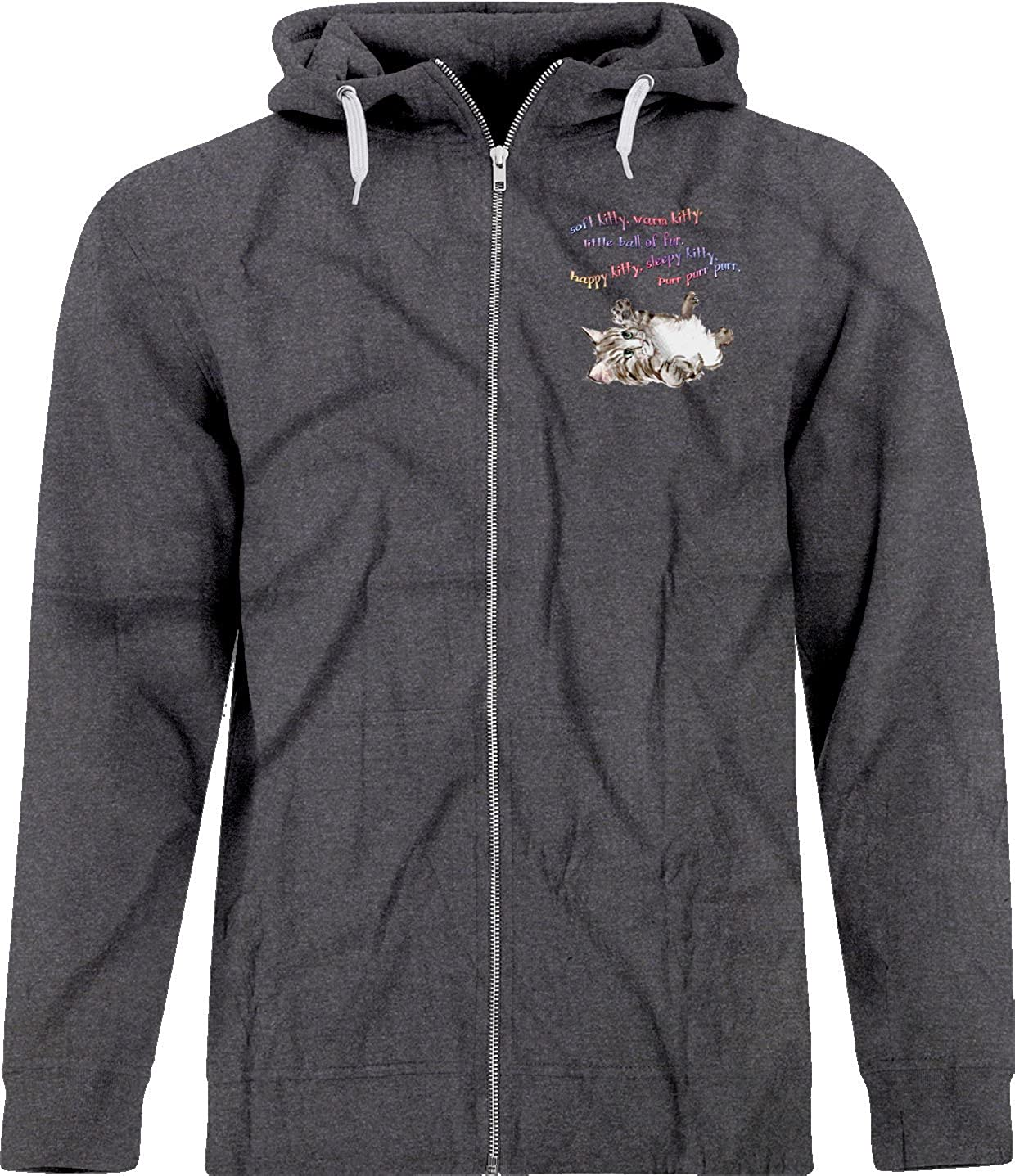 BSW Youth Boys Soft Kitty Sheldon Cooper Big Bang Theory Song Zip Hoodie SM Navy
