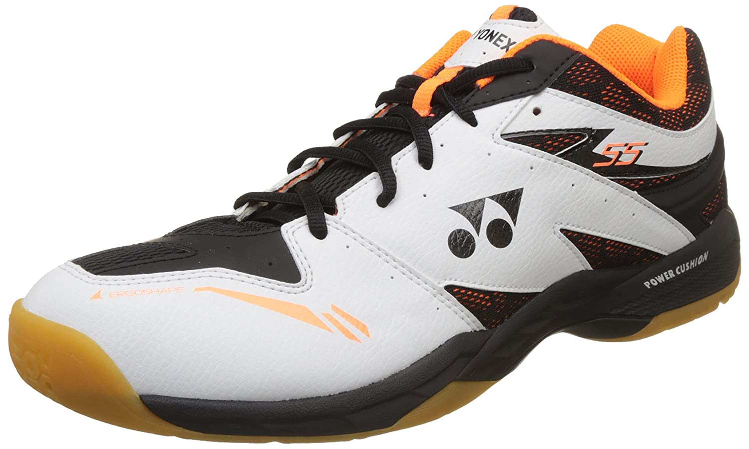 Yonex Power Cushion 55 Blanc / Orange 39 EU SHB 55