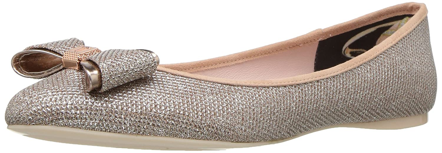 Ted Baker Women's Immep Ballet Shoe B01LXY15R6 8 B(M) US|Rose Gold