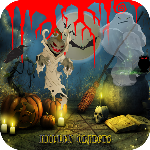 Hidden Objects Halloween Scary Night (Halloween Fire Room Escape Game)