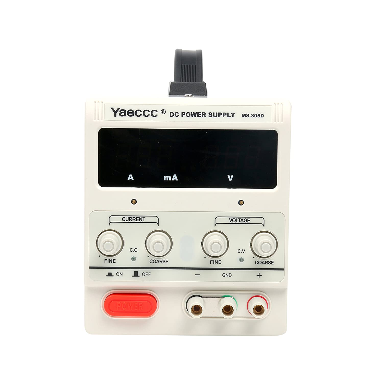 Yaeccc Variable Adjustable Lab Dc Bench Power Supply 0 30v 5a Us Voltage And Current Cord Industrial Scientific