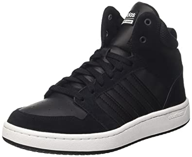 ireland adidas black leather padded neo trainers not working